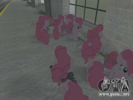 Pinkie Pie para GTA San Andreas sucesivamente de pantalla