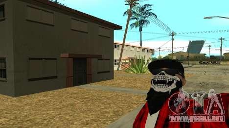 Selfie Mod para GTA San Andreas segunda pantalla