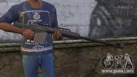 Heavy Sniper from GTA 5 para GTA San Andreas tercera pantalla