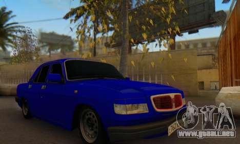 GAZ 3110 Volga LT para GTA San Andreas vista hacia atrás