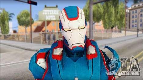 Iron Patriot para GTA San Andreas tercera pantalla