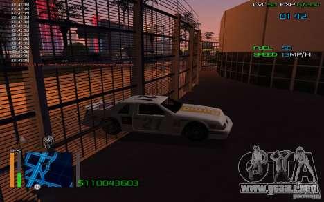 A caballo a través de las paredes para GTA San Andreas segunda pantalla