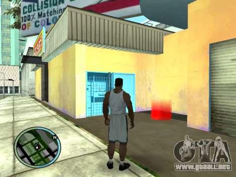 Evacuador de v1.0 para GTA San Andreas segunda pantalla
