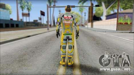 Piers Amarillo Gorra para GTA San Andreas segunda pantalla