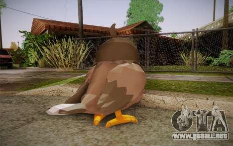 Starly from Pokemon para GTA San Andreas segunda pantalla