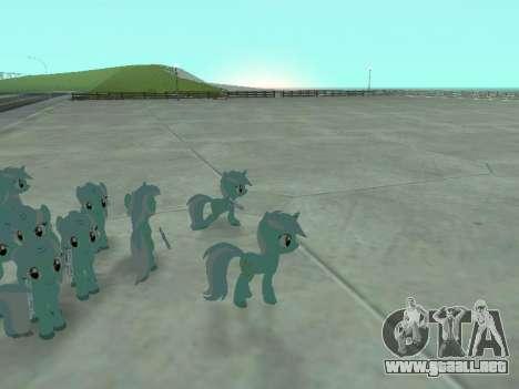 Lyra para GTA San Andreas séptima pantalla