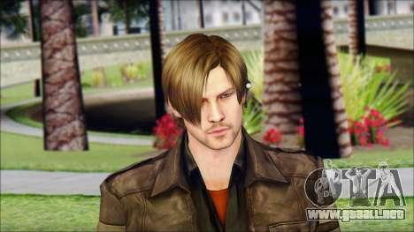 Leon Kennedy from Resident Evil 6 v4 para GTA San Andreas tercera pantalla