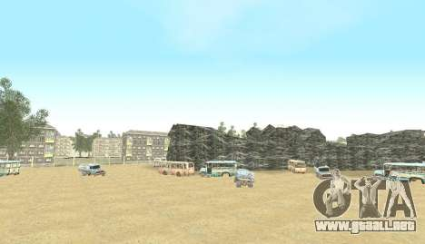 Russian Map 0.5 para GTA San Andreas novena de pantalla