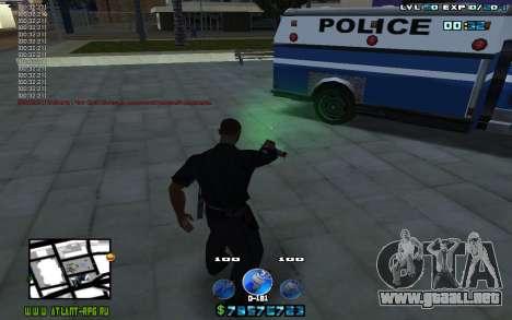 C-HUD by Mr.Riko para GTA San Andreas tercera pantalla