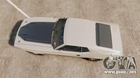 Ford Mustang Mach 1 1973 v3.0 GCUCPSpec Edit para GTA 4 visión correcta