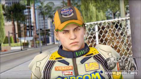 Piers Amarillo Gorra para GTA San Andreas tercera pantalla