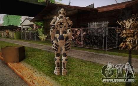 Suit from Vanquish para GTA San Andreas segunda pantalla