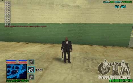 C-HUD by SampHack v.4 para GTA San Andreas segunda pantalla