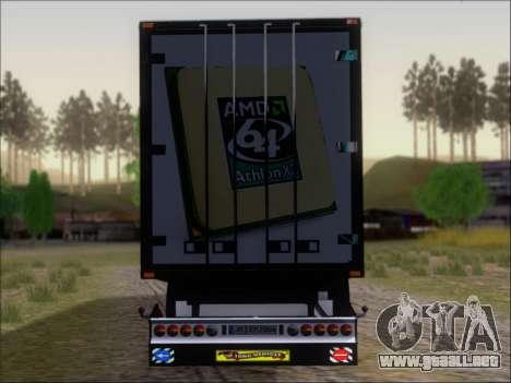 Trailer AMD Athlon 64 X2 para vista inferior GTA San Andreas