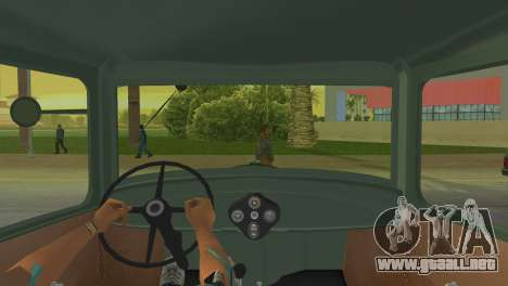 Ford Model AA 1930 para GTA Vice City vista lateral izquierdo
