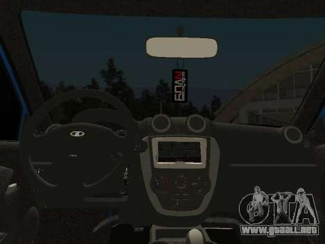Lada Granta Liftback para vista lateral GTA San Andreas