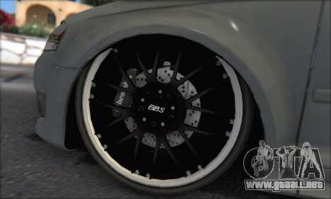 Audi S3 2006 Custom para la vista superior GTA San Andreas