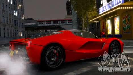 Ferrari LaFerrari WheelsandMore Edition para GTA 4 left