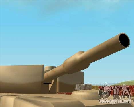 Dozuda.s Primary Tank (Rhino Export tp.) para GTA San Andreas vista posterior izquierda
