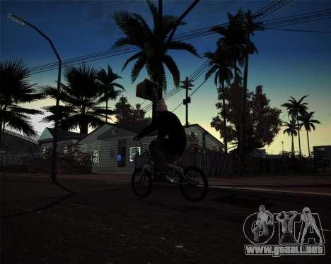 [ENB] Kings of the streers para GTA San Andreas segunda pantalla