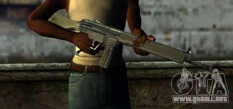 Mexican Army G-3 para GTA San Andreas tercera pantalla