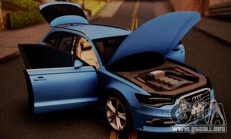 Audi S6 Avant 2014 para la visión correcta GTA San Andreas