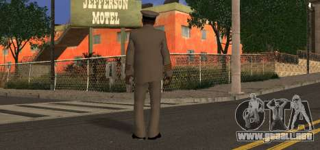 Navy Officer para GTA San Andreas segunda pantalla