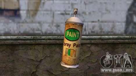 Spraycans from Bully Scholarship Edition para GTA San Andreas segunda pantalla