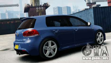 Volkswagen Golf R 2010 para GTA 4 left