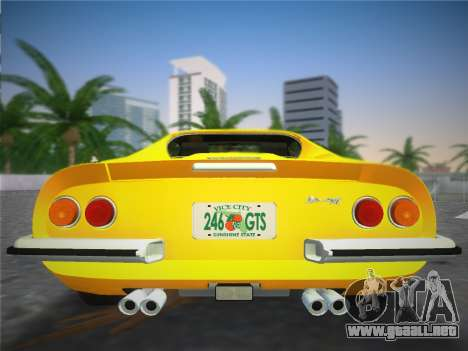 Ferrari 246 Dino GTS 1972 para GTA Vice City