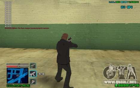 C-HUD by SampHack v.4 para GTA San Andreas tercera pantalla