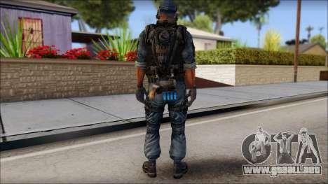 Sami GIGN from Soldier Front 2 para GTA San Andreas segunda pantalla