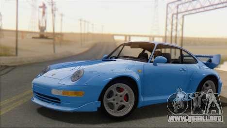 Porsche 911 GT2 (993) 1995 V1.0 SA Plate para GTA San Andreas