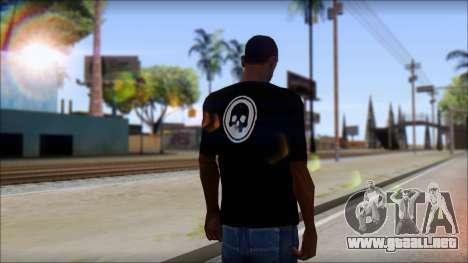 ThreeA T-Shirt para GTA San Andreas segunda pantalla