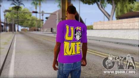 Paises Bajos Sneijder T-Shirt para GTA San Andreas segunda pantalla