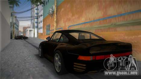 Porsche 959 1986 para GTA Vice City left