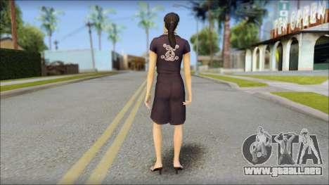 Young Woman para GTA San Andreas segunda pantalla