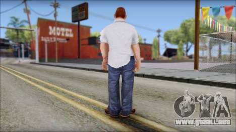 Russell from Bully Scholarship Edition para GTA San Andreas tercera pantalla