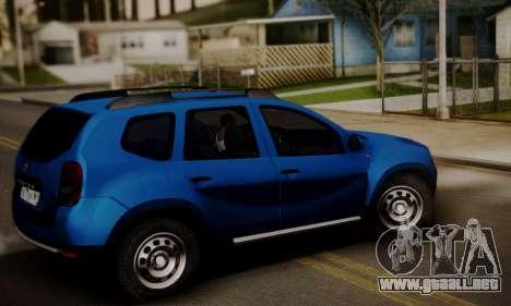 Lada Duster para GTA San Andreas vista posterior izquierda