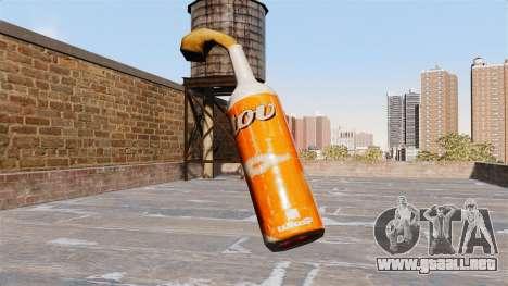 El Cóctel Molotov-Cóctel Molotov- para GTA 4 segundos de pantalla