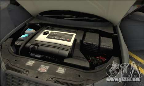 Audi S3 2006 Custom para GTA San Andreas interior