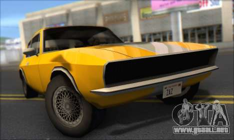 Jensen Intercepter 1971 Fast And Furious 6 para GTA San Andreas left