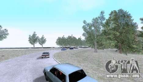 Russian Map 0.5 para GTA San Andreas sucesivamente de pantalla