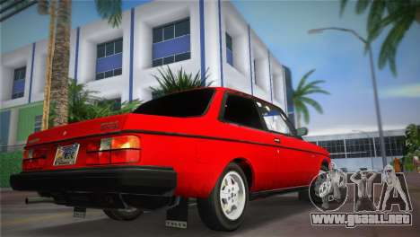 Volvo 242 Turbo Evolution para GTA Vice City left
