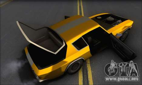 Jensen Intercepter 1971 Fast And Furious 6 para visión interna GTA San Andreas