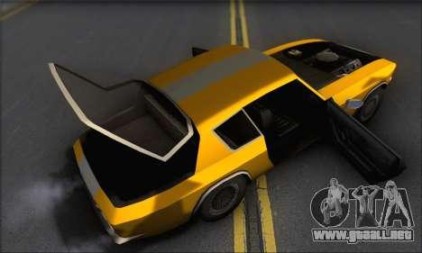 Jensen Intercepter 1971 Fast And Furious 6 para visión interna GTA San Andreas