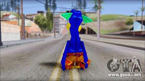 Rico the Penguin from Fur Fighters Playable para GTA San Andreas tercera pantalla