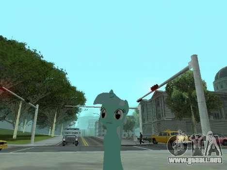 Lyra para GTA San Andreas segunda pantalla