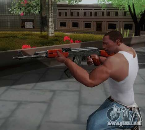 Type 56 para GTA San Andreas sucesivamente de pantalla