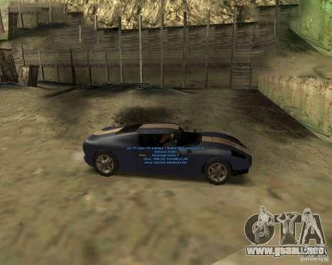 Autorepair para GTA San Andreas segunda pantalla